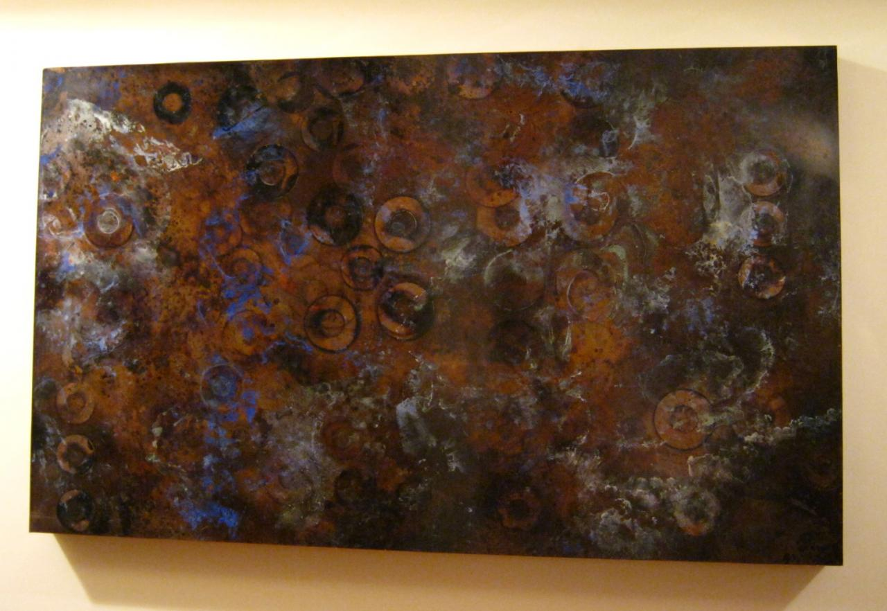 Copper wall art mike sluder metalworks copper wall art for Copper wall art